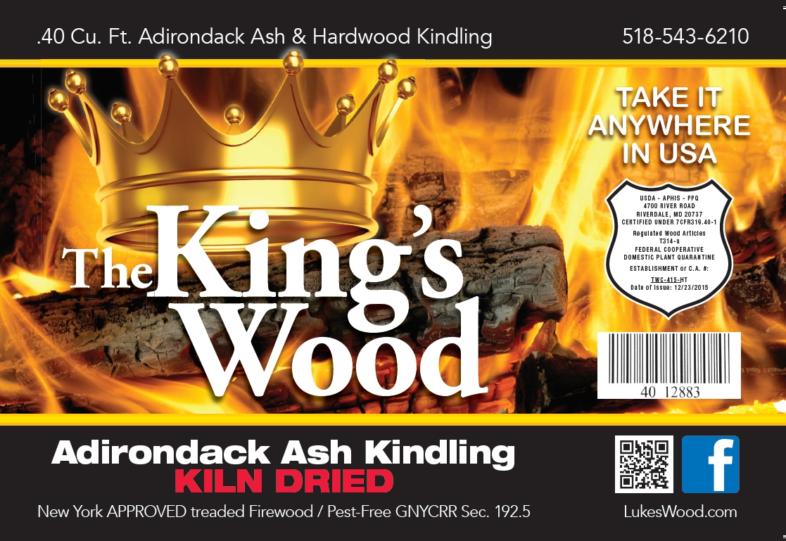 Adirondack Kiln Dried Firewod Seasoned processed and grown